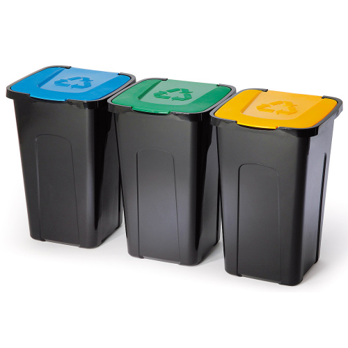 Waste bin 50 l. - yellow