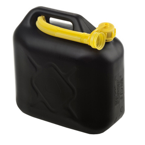 Fuel container - 20 ltr - black