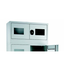 Glassed-in cabinet - modular H = 500mm