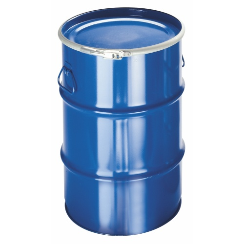 Metal barrel 60 l - varnished, removable lid