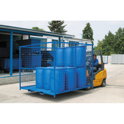 Storage and transport pallets