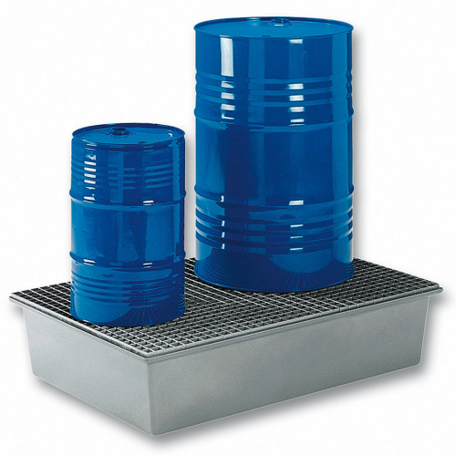 Plastic basin for - 2 barrels