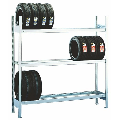 Rack for tyre storage - extension panel