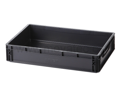 Plastic EURO crate 600x400x120 mm - ESD