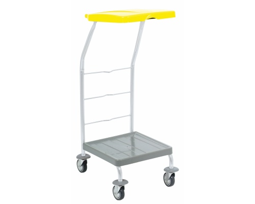 Mobile single-stand 1x120 l. yellow