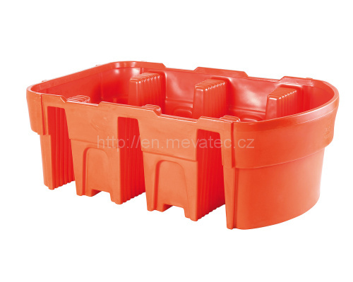 Plastic catch basin 1 100 l