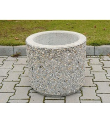 Concrete plant pot pr. 500 x 430 mm