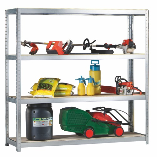 Shelf rack without screws 2000x400x2470 mm