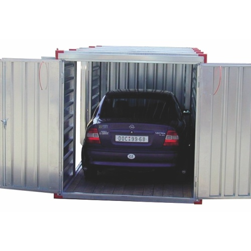 Mobile garage - 5 m long