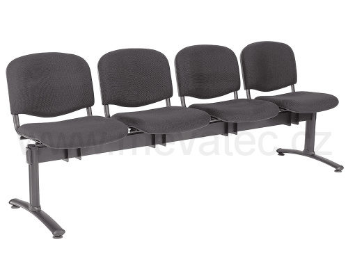 Bench -  with four-seats, stuffed