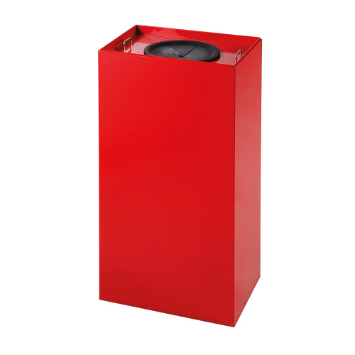 Waste bins for sorted waste 100 l. - red