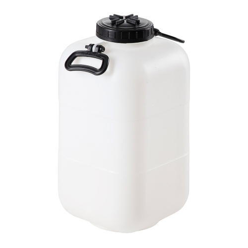 Plastic bottle - wide-necked 25 ltr