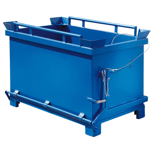 Container with hinged bottom - 1000 l.