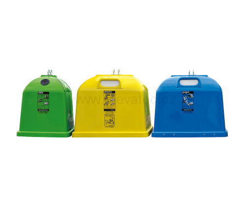 Laminate containers model H-B 2,1m3 - glass
