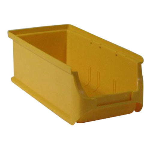 Plastic container 102x215x75 - yellow