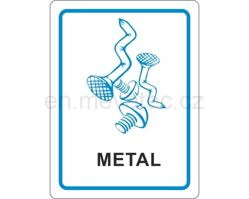 Sticker - metal