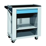 Service trolley - 1x shelf, 1x drawer