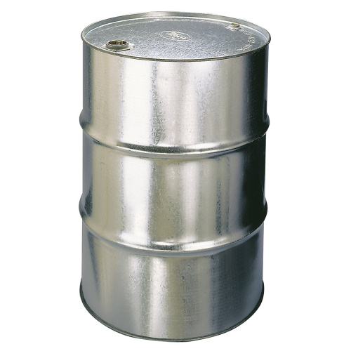 "Metal barrel 200 l - 2"" plug in lid"