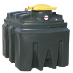 Used oil container 1200 lt.