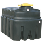 Used oil container 2500 lt.