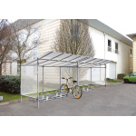 Shelter for bikes EKO - additional section (2550x1977x2150 mm)