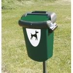 Dog excrements bin RETRIEVER - 35 l.
