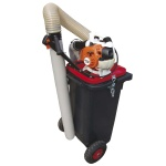 Vacuum cleaner for tiny waste and excrements