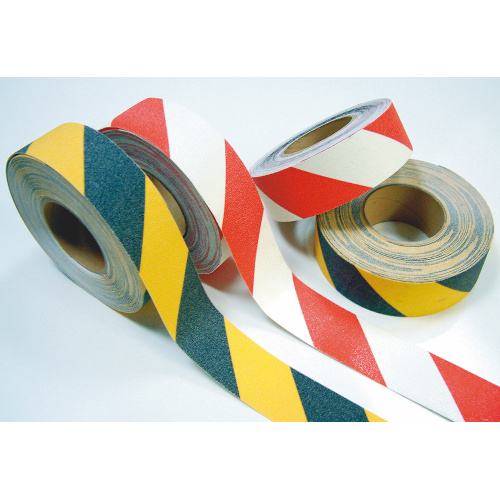 Safety antiskid tape 50mm x 18,3 m - yellow/blac