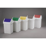 Plastic waste bin without a lid - 50 l