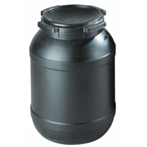 Antistatic plastic barrel 26 l