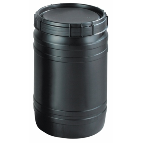 Antistatic plastic barrel 75 l