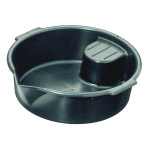 Round plastic catch basin