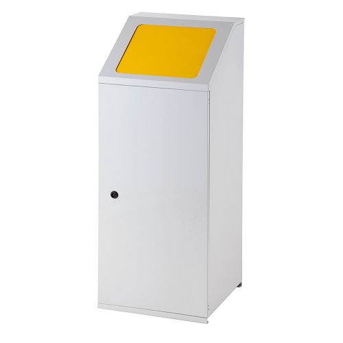 Waste bin for sorted waste - yellow