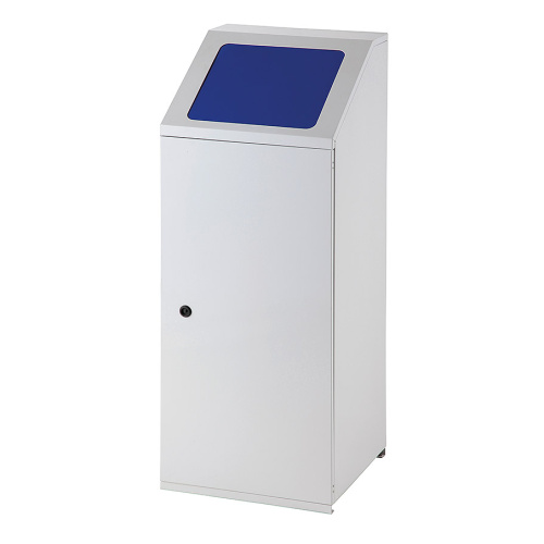 Waste bin for sorted waste - blue