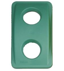 Lid for glass - green