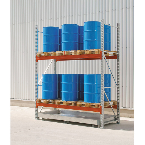 Sectional pallet racks