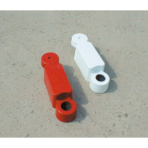 Conductive curbs - white