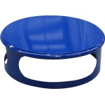 Lid for concrete bin - blue