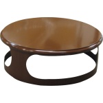 Lid for concrete bin - brown