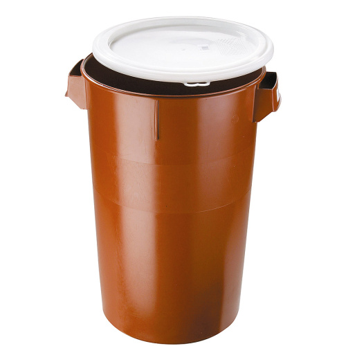 Plastic waste bin with a lid - 50 l.