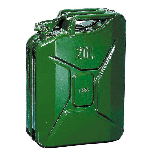 Metal can 20 l.