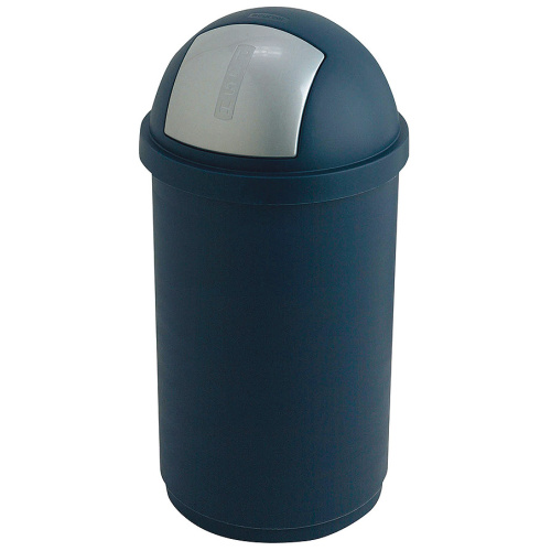 Plastic waste bin with a swinging cover - 50 l.