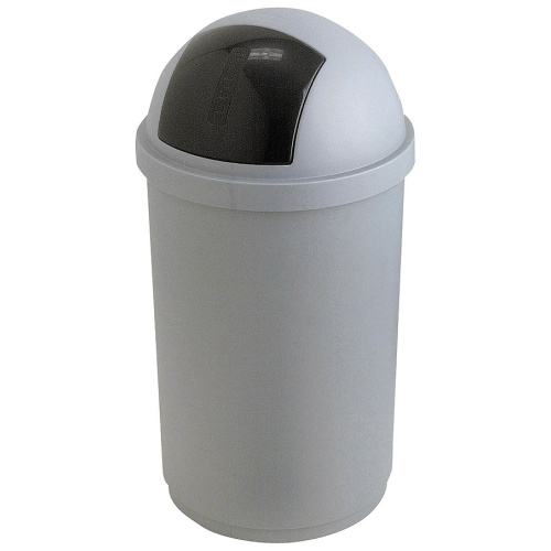 Plastic waste bin with a swinging cover 50 l.