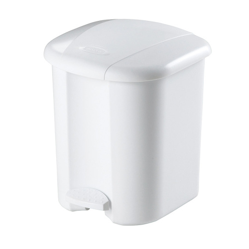 Plastic waste bins with step-on opening type 15