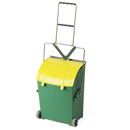 Mobile cleaning trolley