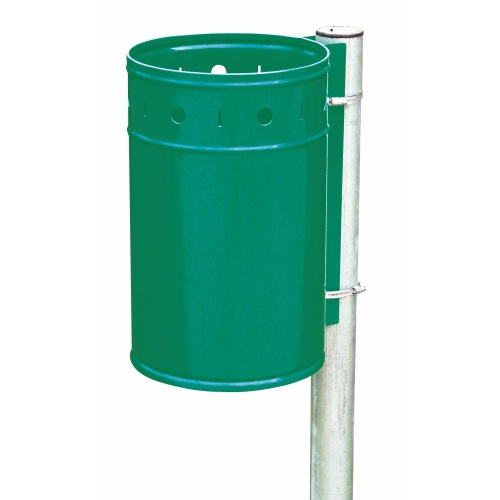 Hanging waste bin - green