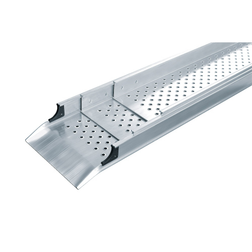 Telescopic aluminium platform - one-piece