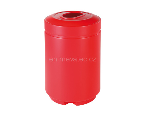 Plastic waste bin ECO-BANK