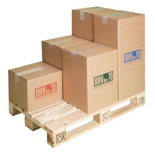 Cardboard boxes for hazardous waste 70 l.