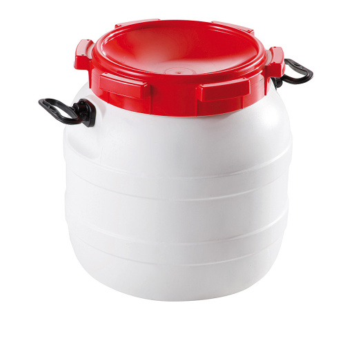 Screw lid barrels 42 l.